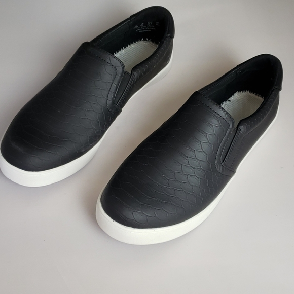 dr scholl's madison slip on black